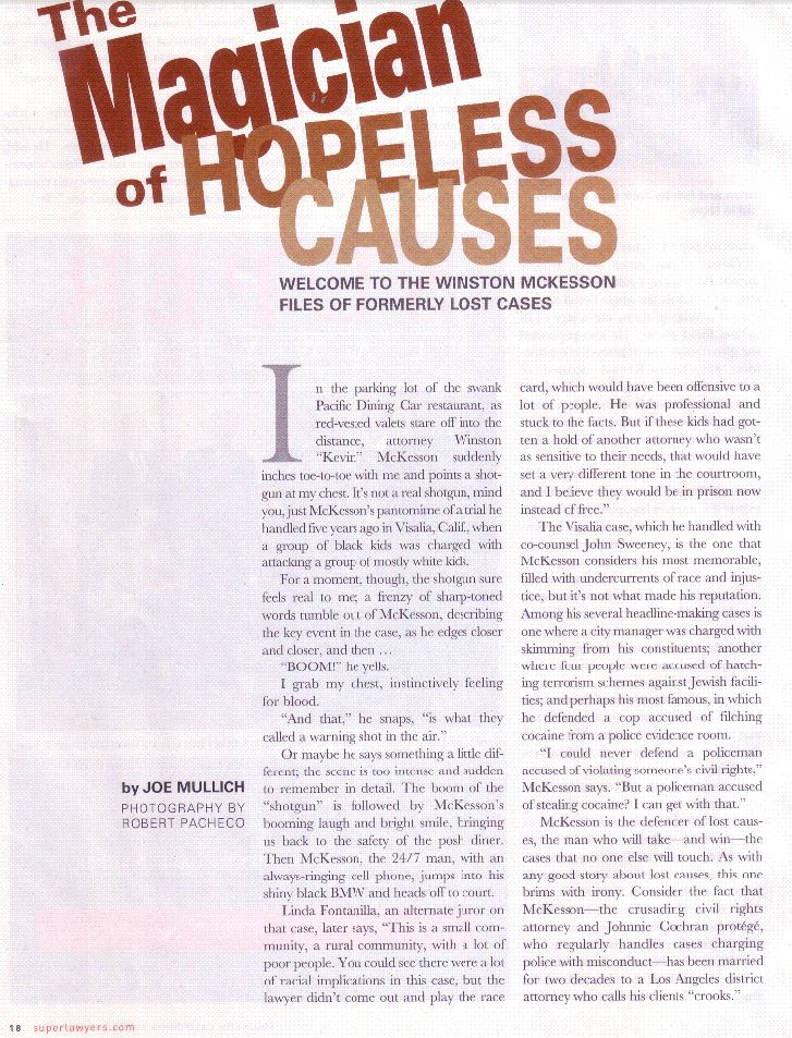 The Magician of Hopeless Causes (1/4)